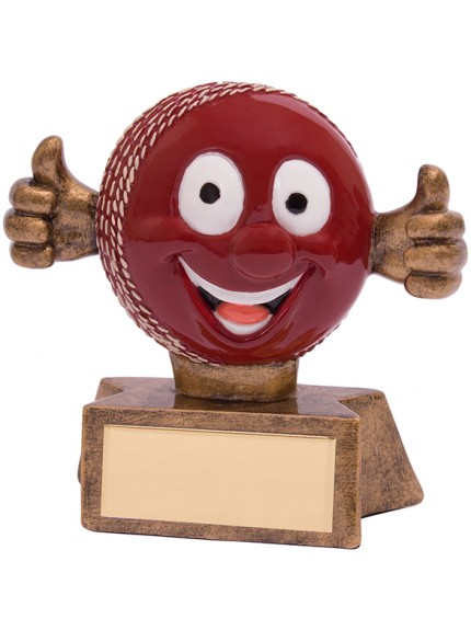 Smiler Cricket Award 75mm