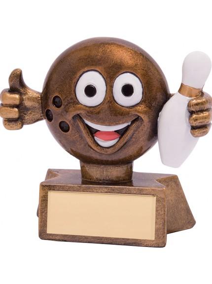 Smiler Ten Pin Award 75mm