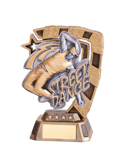 Euphoria Street Dance Award Male - 4 Sizes