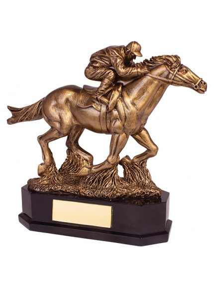 Aintree Equestrian Racing Horse Award 220mm