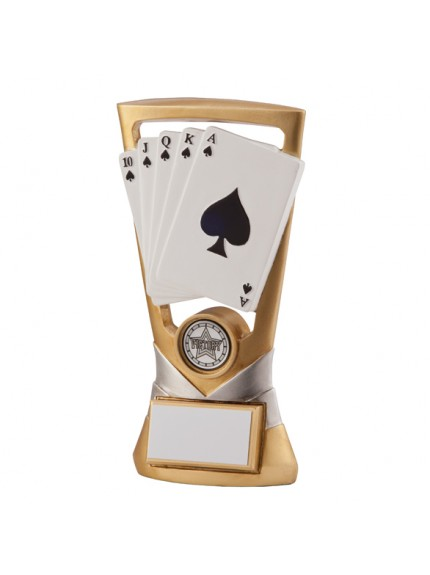 Velocity Cards Poker Plaque 180mm