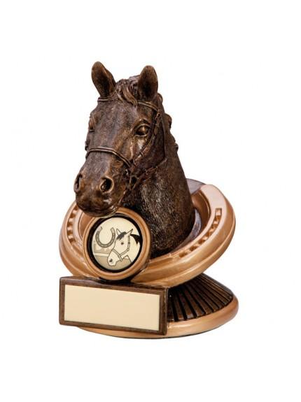 The Endurance Horse Head Award 125mm