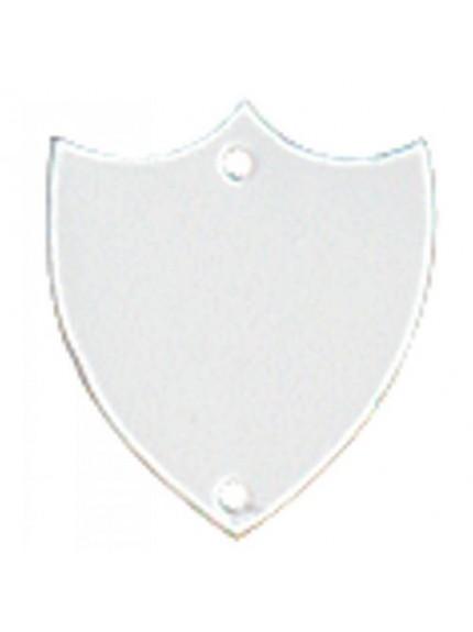 28mm Flat Silver Side Shield