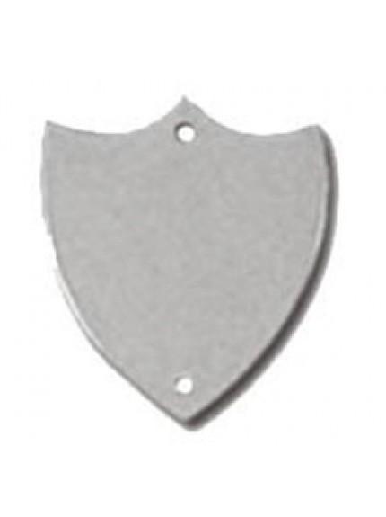 23mm Flat Silver Side Shield