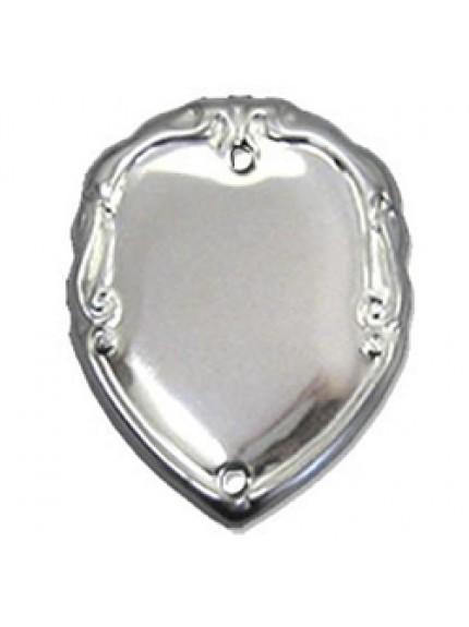 36mm Patterned Silver Side Shield