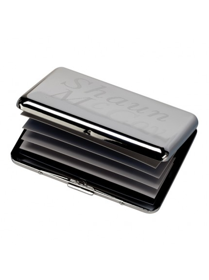Eternity Card Holder Polished Steel 95x70mm