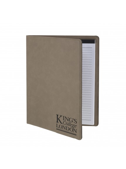 Leatherette Brown A4 Note Pad and Document Holder