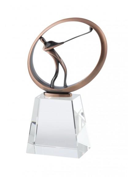 LG Crystal Golf Award - 3 Sizes