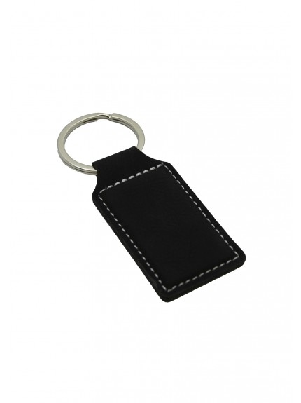 LZS Black with Silver Keyring