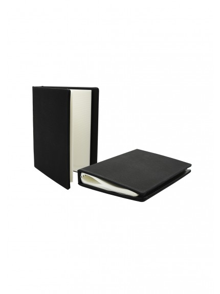 LZM Black with Silver Photo Album with 20 Sleeves