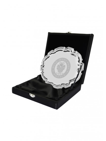 LZXL Black with Silver Salver Case - 5 Sizes