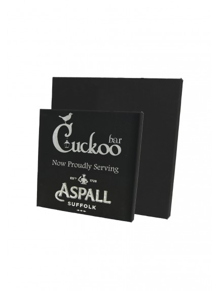 LZXL Black with Silver Small Wall Plaque