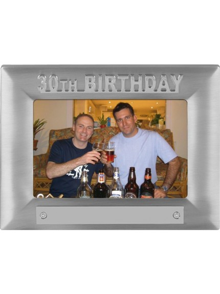30th Birthday Photoframe