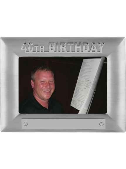 40th Birthday Photoframe