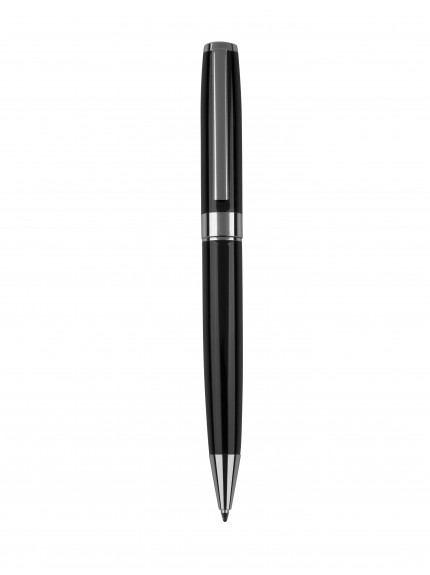 13.5cm Black Ball Point Pen