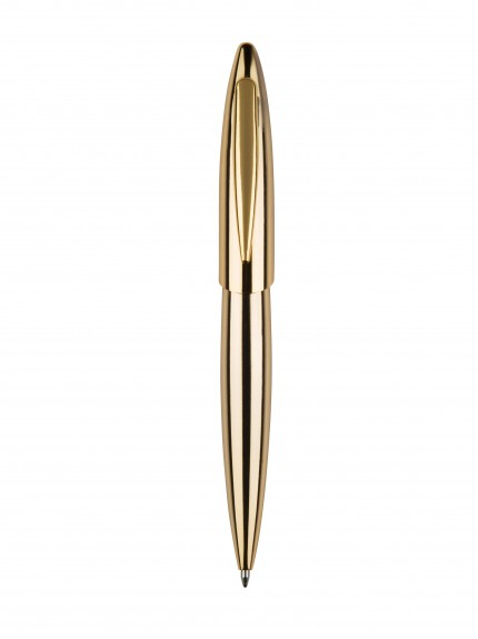 13.5cm Gold Finish Ball point Pen