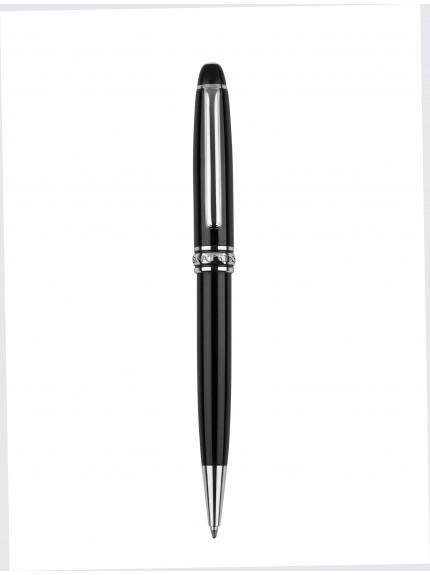 13.5cm Black Ball Point Pen