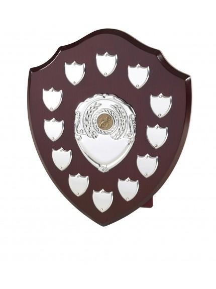30cm Shield with 12 Side Shields
