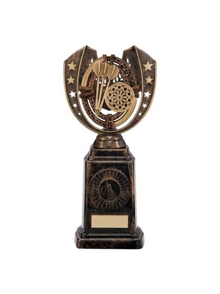 Maverick Darts Frontier Award Antique Bronze & Gold 250mm