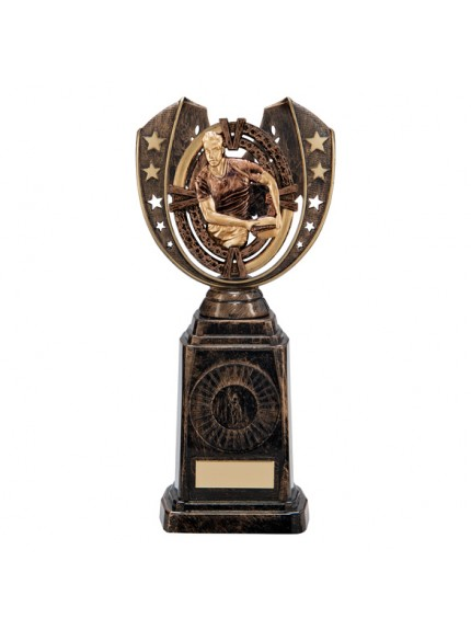 Maverick Rugby Frontier Award Antique Bronze & Gold 250mm