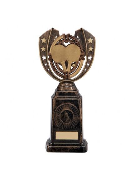 Maverick Table Tennis Frontier Award Antique Bronze & Gold 250mm