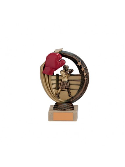 Renegade Boxing Legend Award Antique Bronze & Gold - Available in 5 Sizes