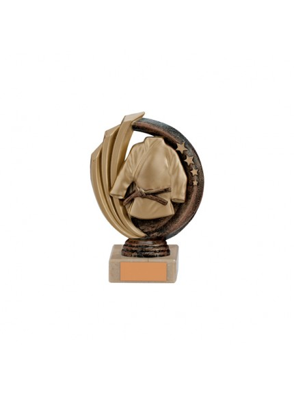 Renegade Martial Arts Legend Award Antique Bronze & Gold - Available in 5 Sizes