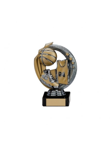 Renegade Basketball Legend Award Gunmetal & Gold - Available in 5 Sizes