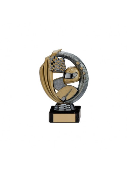 Renegade Motorsport Legend Award Gunmetal & Gold - Available in 5 Sizes