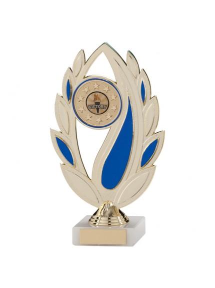 Euphoria Multi-Sport Gold & Blue Trophy 215mm