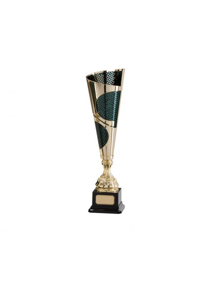 Quest Laser Cut Gold & Black Cup - Available in 5 Sizes