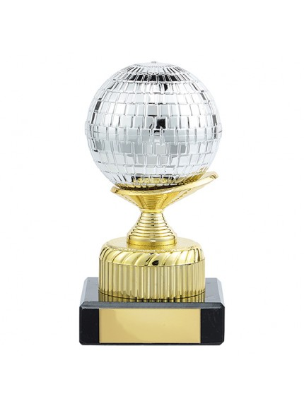 Glitterball Dance Trophy - 2 Sizes
