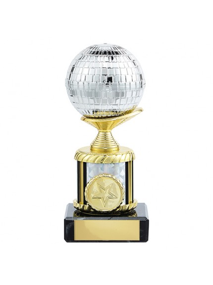 Glitterball Dance Trophy - 4 Sizes