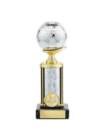 Glitterball Dance Trophy - 4 Sizes