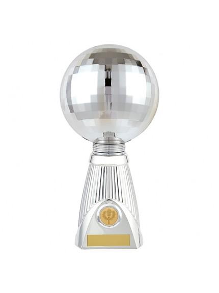 Planet Dance Deluxe Rapid 2 Trophy Silver  - 3 Sizes