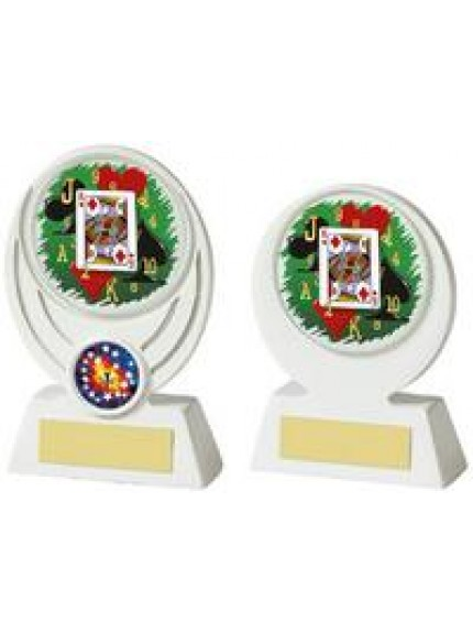 White Cards Resin Award - 2 Sizes