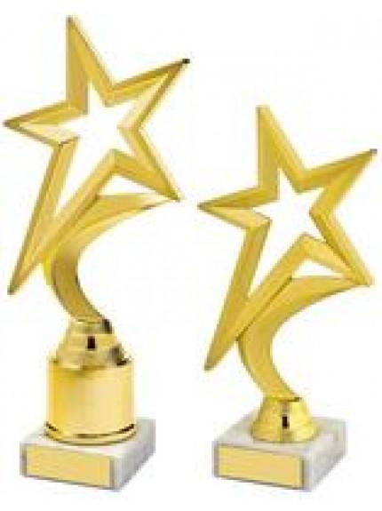 Gold Shooting Star Holder Award - 2 Sizes