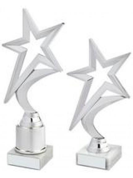 Silver Shooting Star Holder Award - 2 Sizes