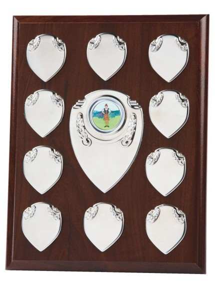 Budget Annual Record Plaque Award Silver