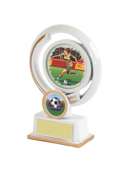 White Resin Women's Football Award - Available in 4 sizes