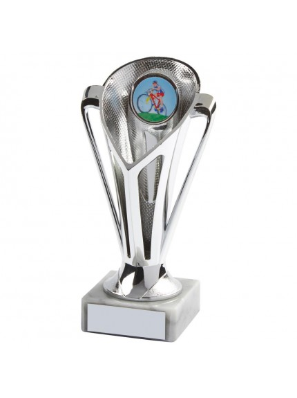 Silver Plastic Trophy Cup - Available in 4 sizes