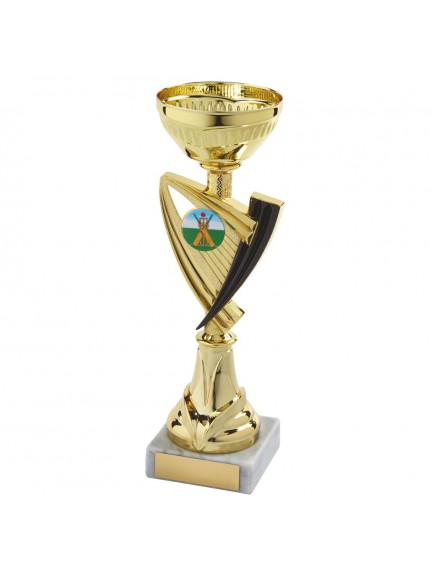 Gold Trophy Cup - Available in 6 sizes