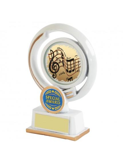 White Resin Multi Sport Award - Available in 3 sizes