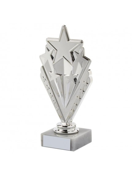 Silver Star Multi Sport Trophy - Available in 2 sizes