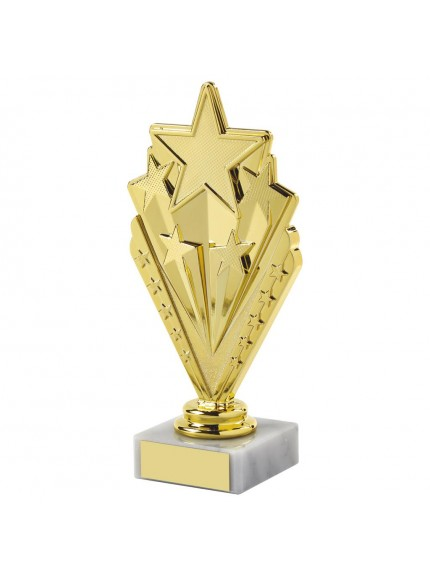 Gold Star Multi Sport Trophy - Available in 2 sizes