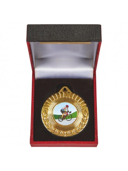Heavy Quality Medal in Case - Available in Gold, Silver and Bronze