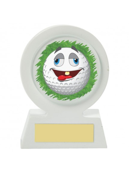 11cm White Resin Golf Collectable - Chilled