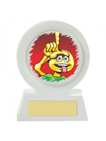 11cm White Resin Golf Collectable - Looozerr!!!