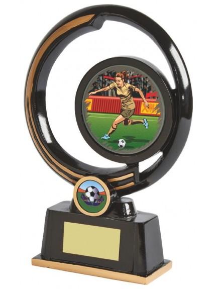 Ladies Black/Gold Resin Holder Award