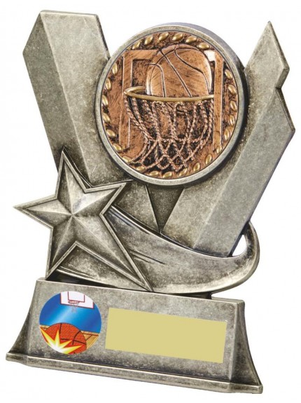Metal Basketball Stand Award